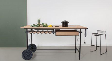OIKOS: A Flexible Kitchen for Working Spaces