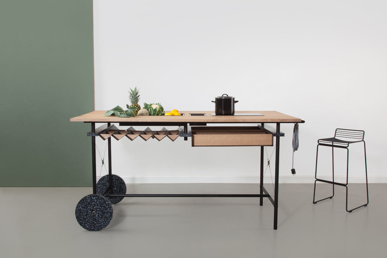 OIKOS: A Flexible Kitchen for Working Spaces