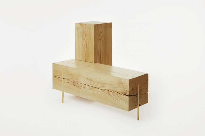 Stiletto Benches I and II from PELLE