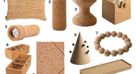 10 Modern Products Made From Cork