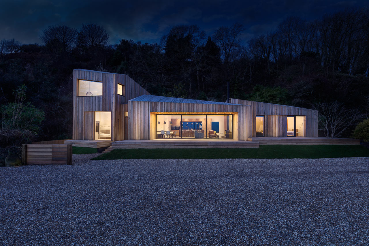 A Modern Holiday Home On A Cliff On The South Coast Design Milk