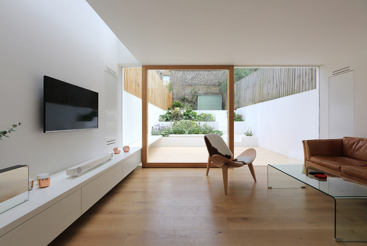 A Victorian House in East London Gets a Modern Extension - Design Milk