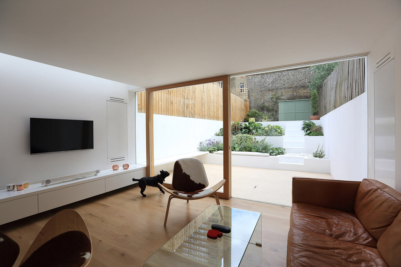 Living Room Victorian House A Victorian House In East London Gets A Modern Extension Design Milk
