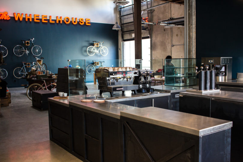 he and his wife tami spenst are the husband and wife team behind the wheelhouse a full service bicycle shop and barista led coffee shop in los angeles - Full Service Interior Design