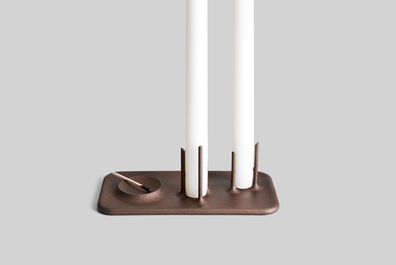 OTHR Valentine's Exclusive: Trois Candleholder by Brad Ascalon