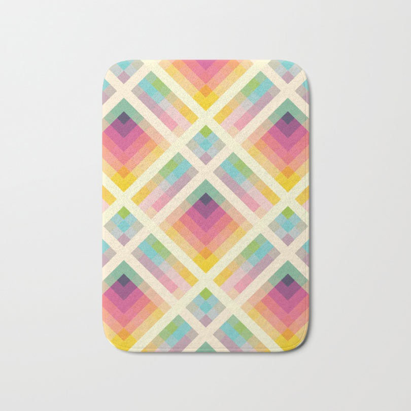 Society6 Launches Bath Mats Design Milk