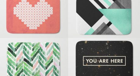 Society6 Launches Bath Mats