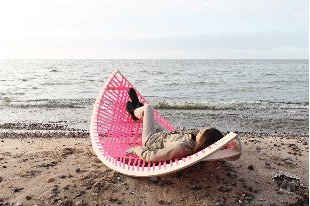 panama banana  a quirky rocking outdoor hammock     panama banana  a quirky rocking outdoor hammock   design milk  rh   design milk