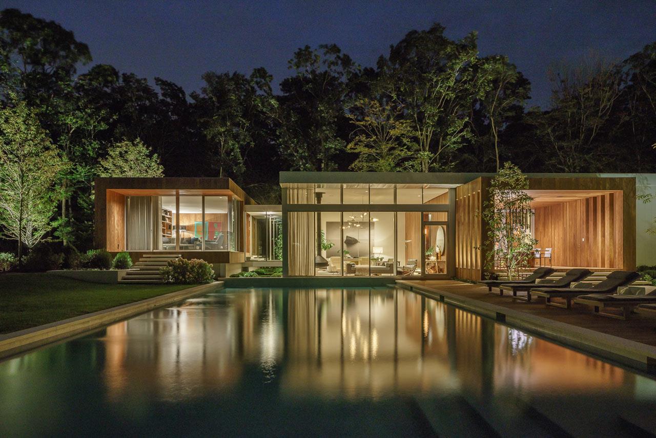 A Modern East Hampton Home Gets a Dramatic Renovation