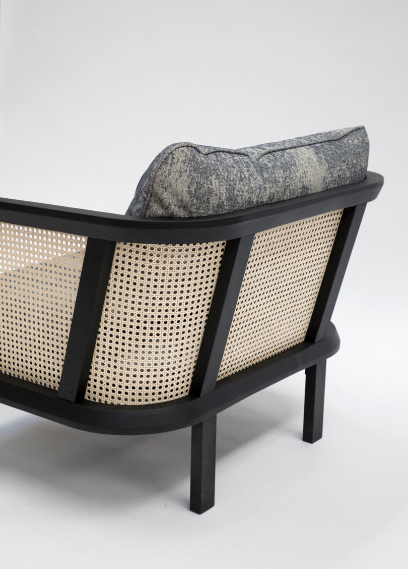 a vintage inspired woven cane chair from buzzispace design milk. Black Bedroom Furniture Sets. Home Design Ideas