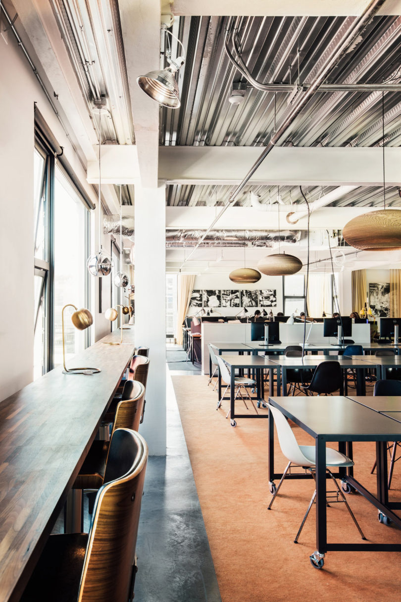 With Over 5,000 Square Feet Of Space, Cloud Room Houses A Large, Co Working  Area Filled With Rows Of Tables And Chairs, As Well As A Lounge, A  Glass Fronted ...
