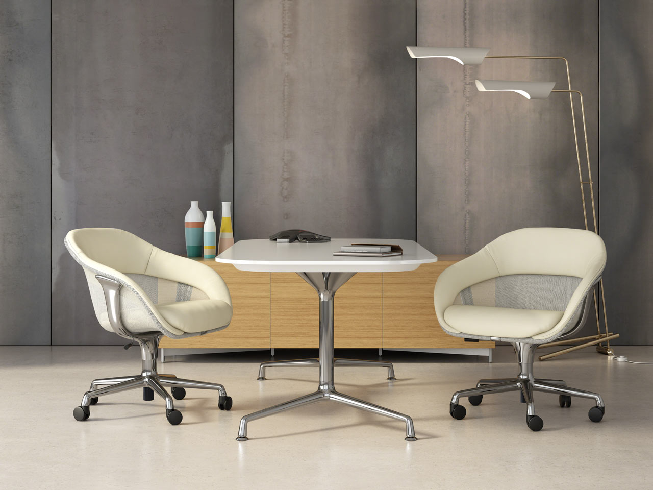 Coalesse Updates the Lounge-Inspired SW_1 Seating Collection