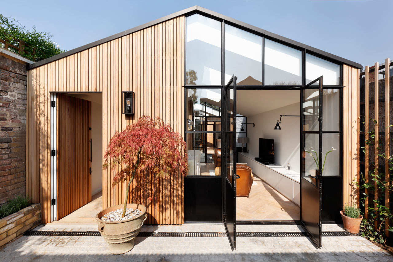 A London Wood Yard Converted into a Light-Filled, Family Home