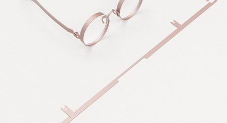 FRAME: Eyeglasses Cut From Sheet Metal to Reduce Waste