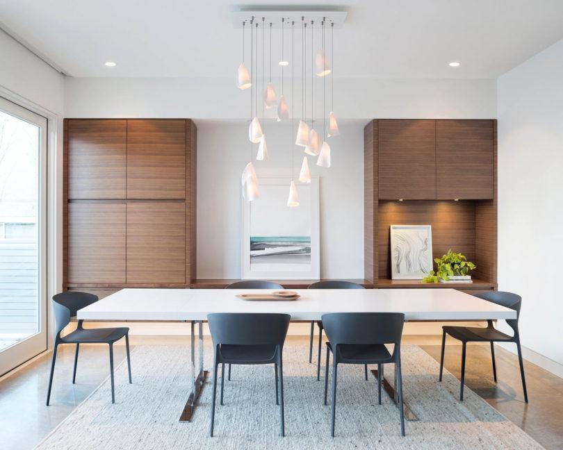 Modern Dining Room Built Ins