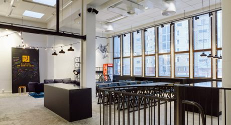 A Tech Company in Helsinki Upgrades to a New, Fun Office Space