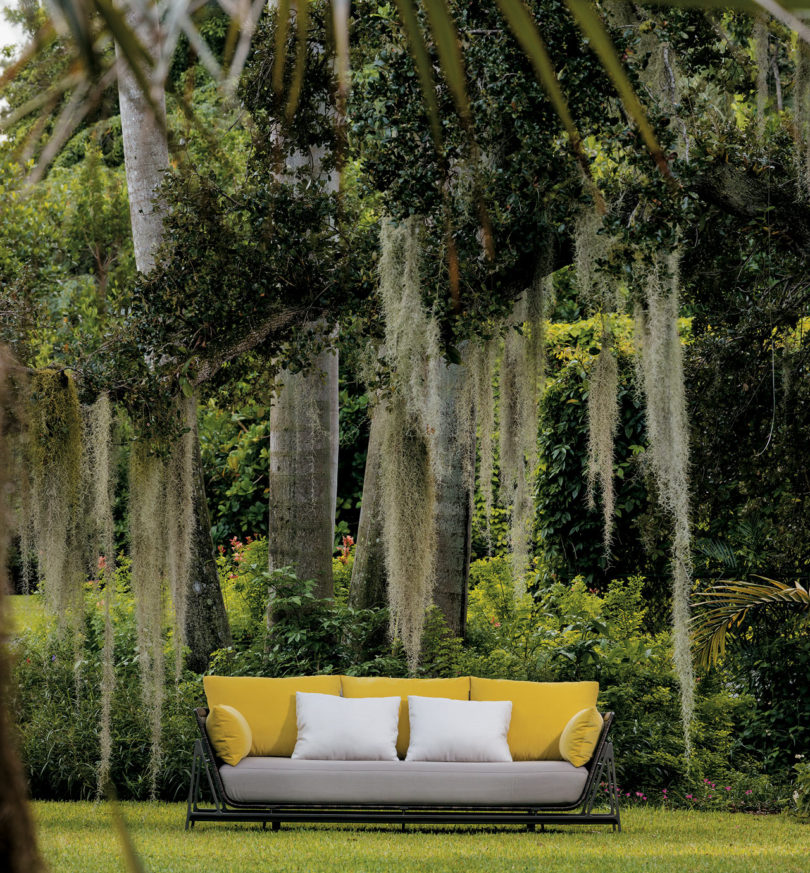 From sofas to lounge chairs to a variety of tables, Moray comes in with  fluid lines, architectural details, and luxe outdoor textiles that will  create a ... - HOLLY HUNT Presents A Sea-Inspired Outdoor Furniture Collection