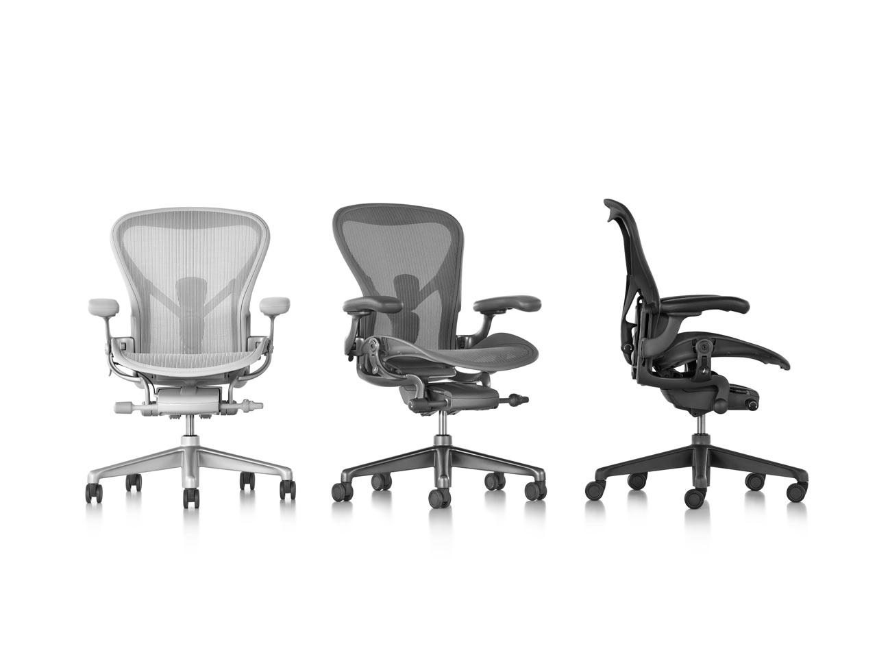 Herman Miller s Aeron Chair Gets Remastered Design Milk