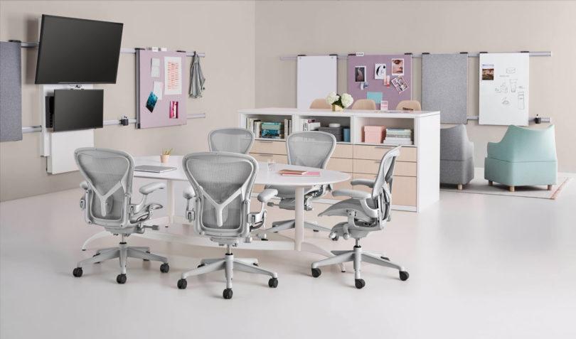 Herman Miller S Aeron 174 Chair Gets Remastered Design Milk
