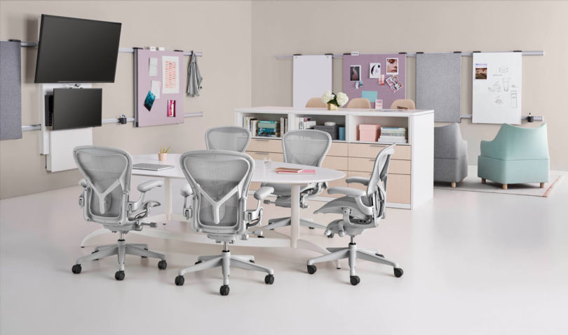 Herman Millers Aeron Chair Gets Remastered Design Milk