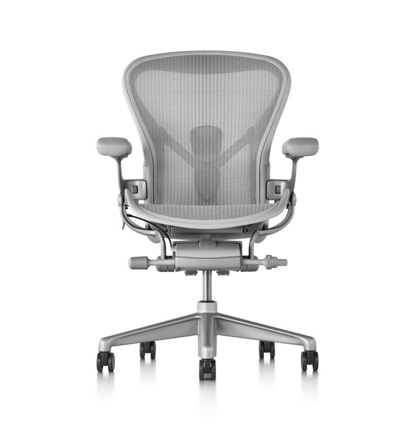 Amazing After more than two decades on the market materials technology and manufacturing have vastly changed Aeron aims to give you a much more fortable and