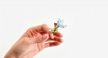 Adorn Your Fingers with a Tiny Bouquet of Flowers