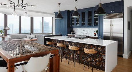 A Downtown Chicago Bachelor Pad for a Mathematician