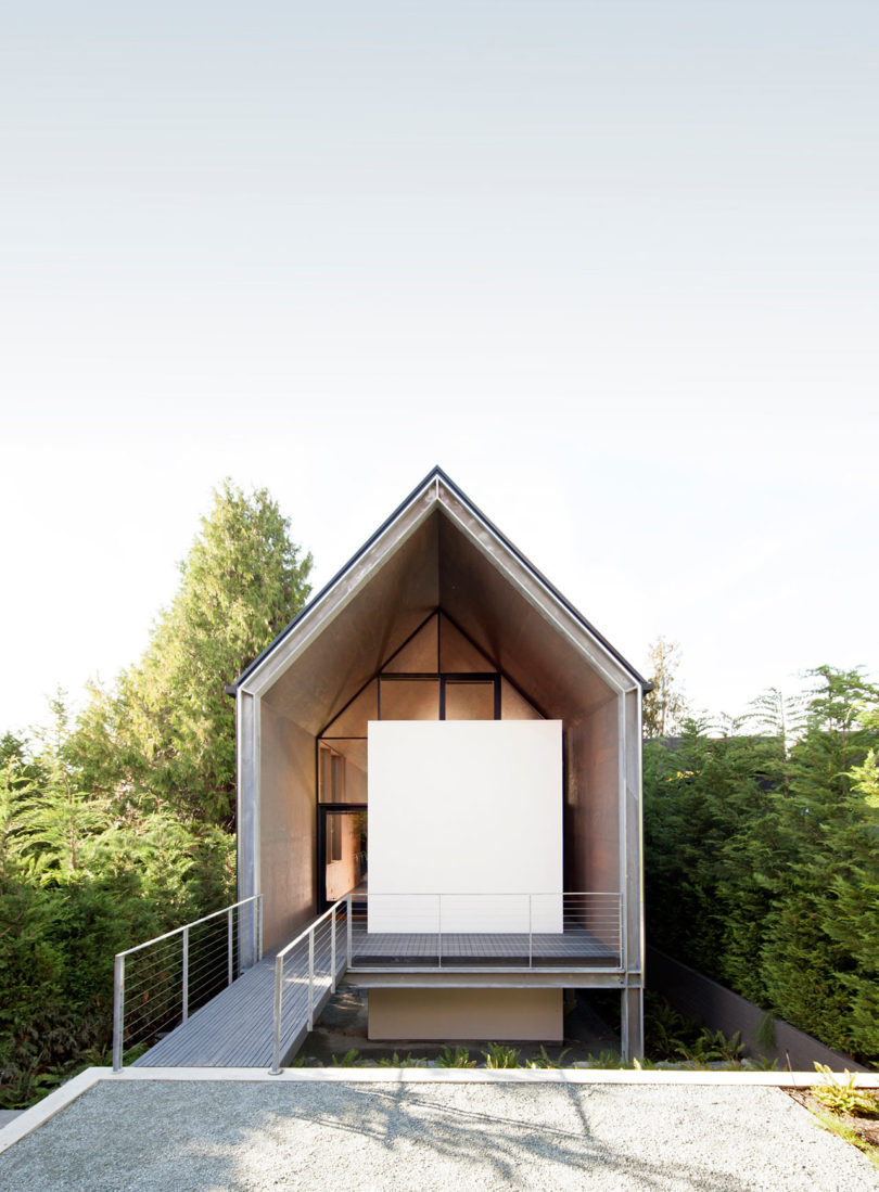 A Minimalist House Designed For A Couple Desiring A