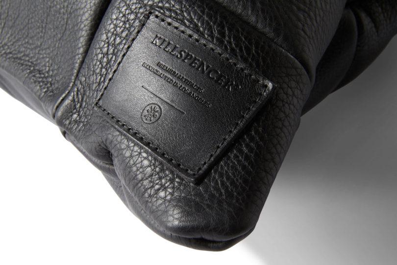 Oversized Leather Floor Pillows from KILLSPENCER - Design Milk