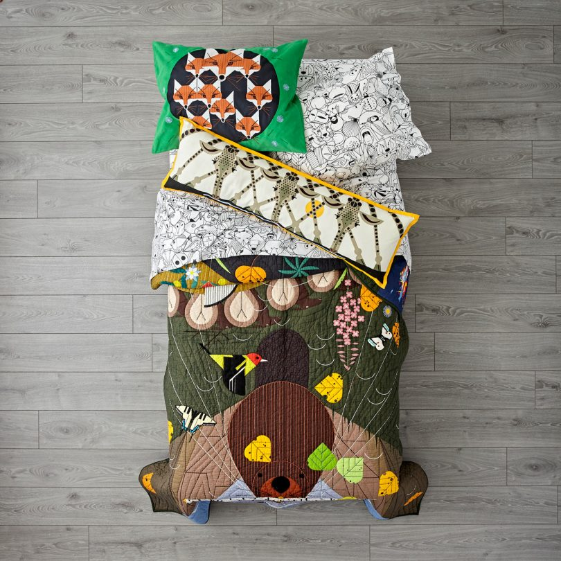 The Land of Nod Launches 2nd Charley Harper for Nod Collection