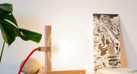 A Simple Lamp that Requires No Hardware by Emmanuel Gonzalez