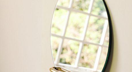 Geometric Wall Mirrors from Saif Faisal