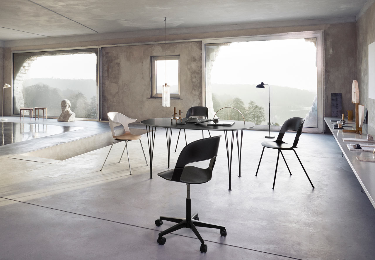 LAYER'S Pair Chair for Fritz Hansen Gets a New Update