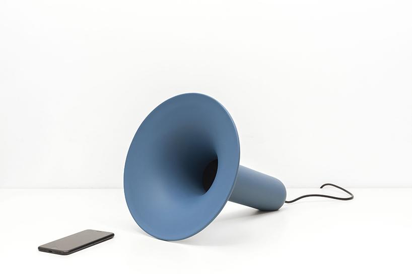 The Luciano Ceramic Bluetooth Speaker Sings Simplicity