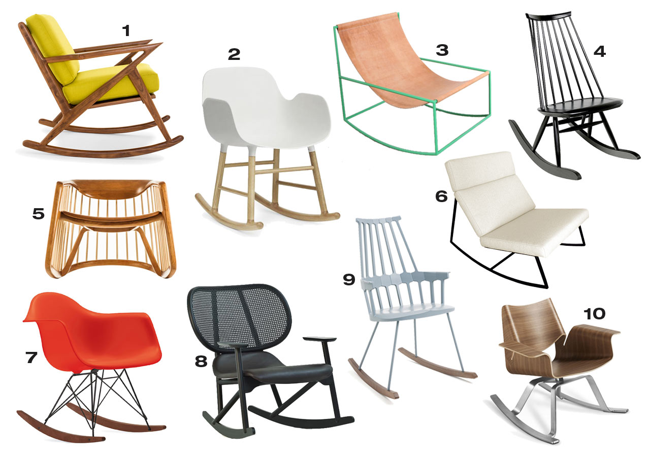 10 Modern Rocking Chairs That Could Work in Any Room - Design Milk