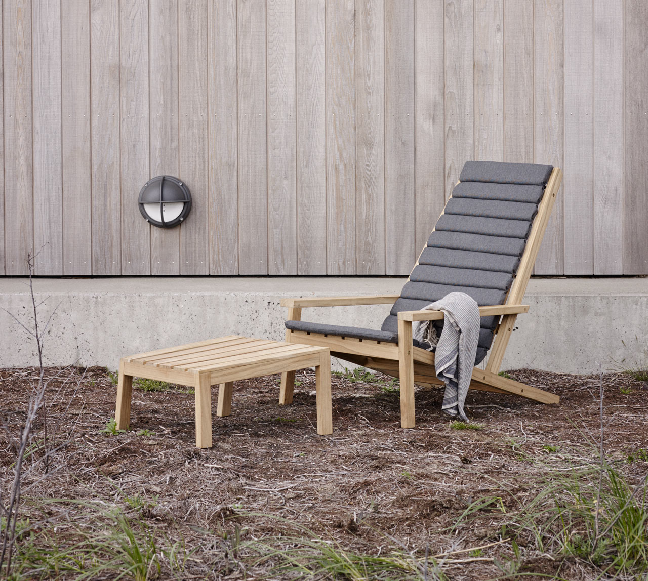 Inspirational New Wooden Outdoor Furniture from Skagerak