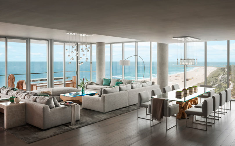 On The Shores Of South Beach, This Project Spans An Entire Floor Of The  Building, Along With Rooftop Terraces That Boast 360 Degree, Jaw Dropping  Views Of ...