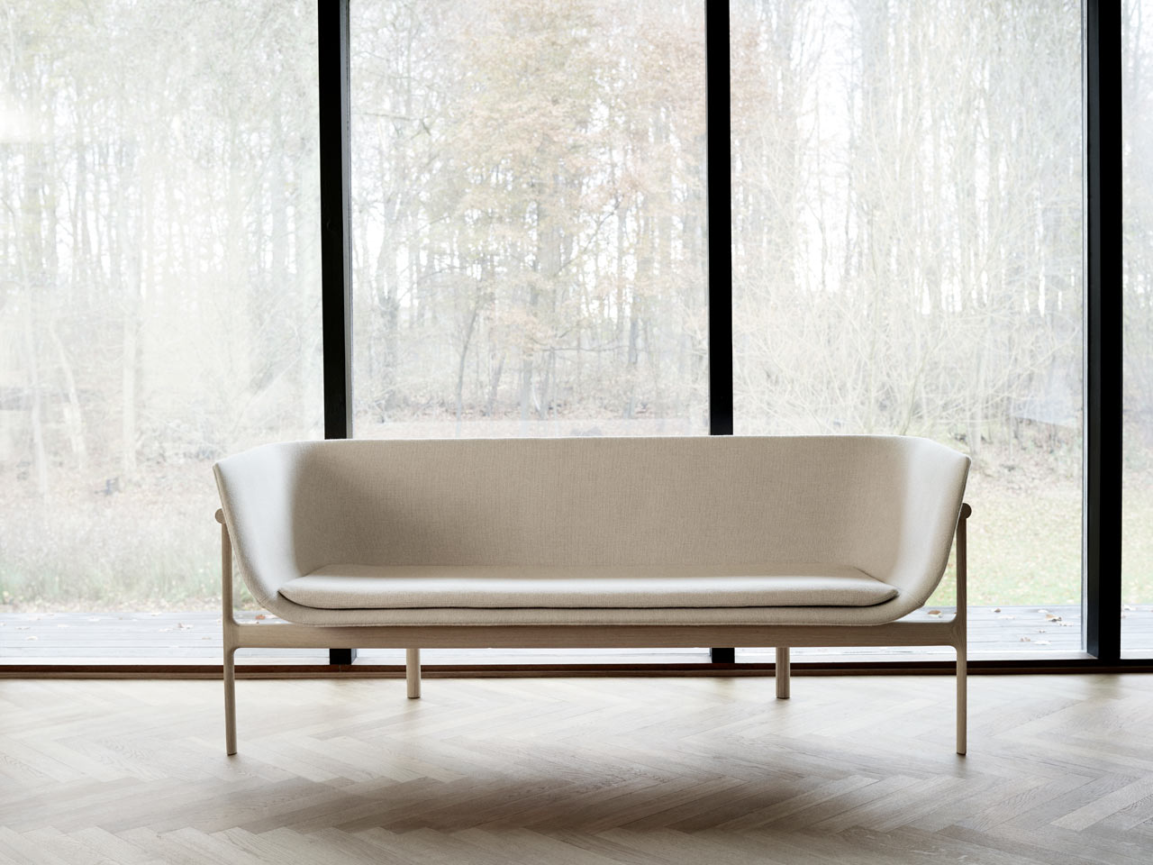 A Sculptural Sofa Inspired by an Old Tailor Shop