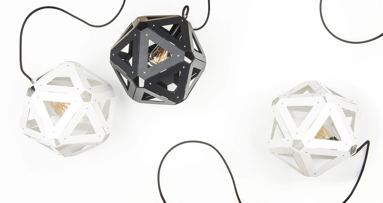 U34: A Modern Light Exploring the Icosahedral Shape