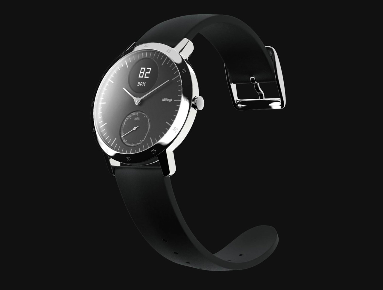 The Withings Steel HR is One Fine Looking Hybrid Fitness Smartwatch