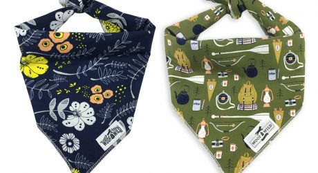 Modern Dog Bandanas from Woof & Wild