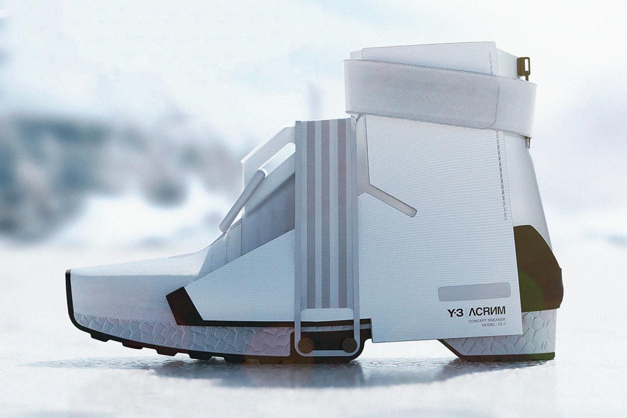 The Y-A FUYU HIGH Concept Hybrid Sneaker