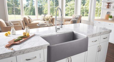 The Nostalgic Apron-Front Sink Makes a Modern Comeback