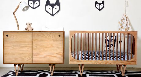Nursery Furniture By Bunny & Clyde That's Inspired by Family Heirlooms