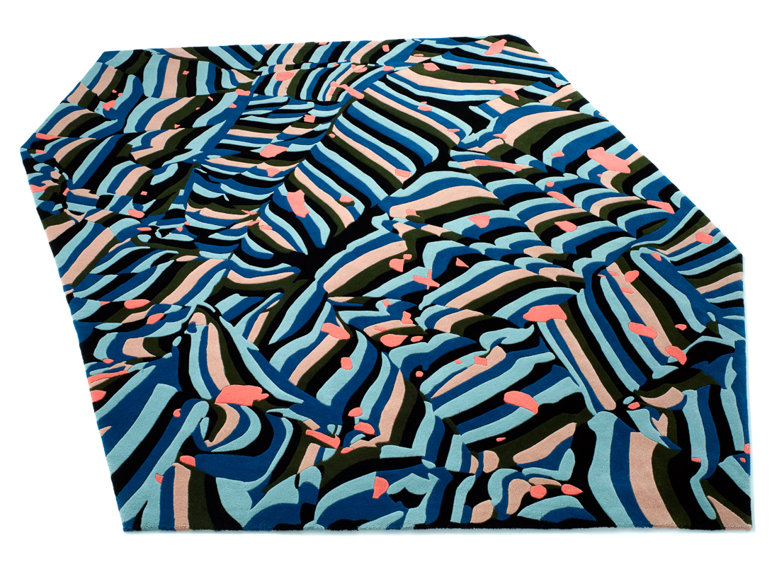 kinder MODERN Launches Artist Rug Collection With Cody Hoyt