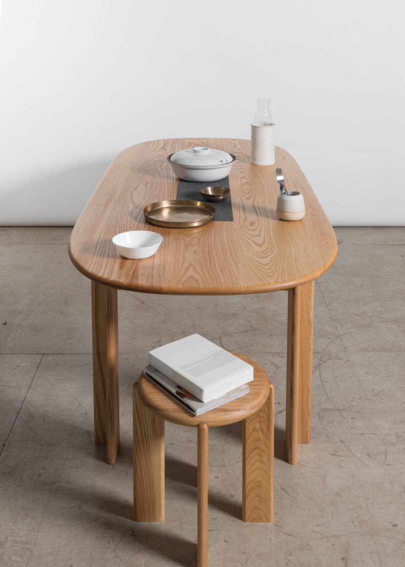 home improvement miro dining table by studio snng. Black Bedroom Furniture Sets. Home Design Ideas