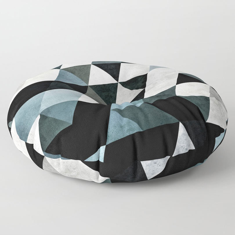 Floor Pillows Society6 : Society6 Launches New Floor Pillows For Your Home - Design Milk