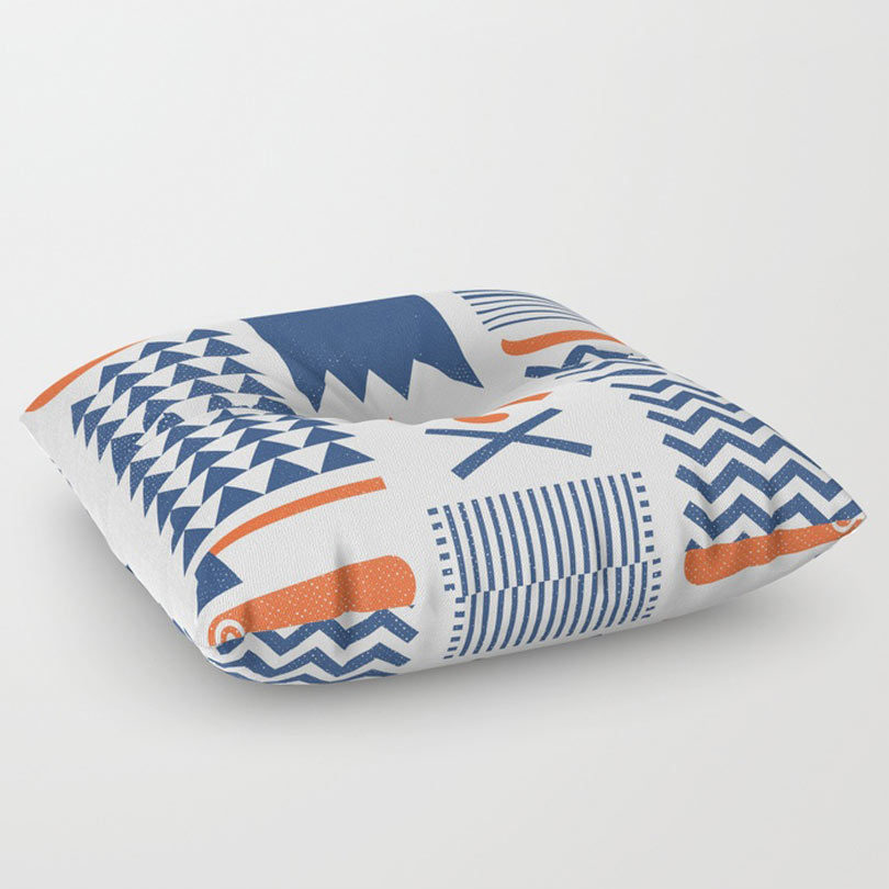 Society6 Launches New Floor Pillows For Your Home - Design Milk