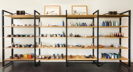 Tekio: A Modular Shelving Solution By Tanner Goods