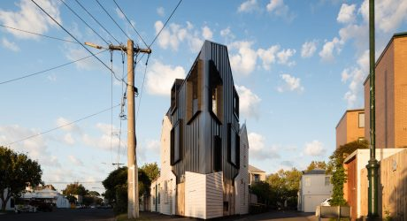 A Jaw-Dropping, Triangular-Shaped House in Melbourne